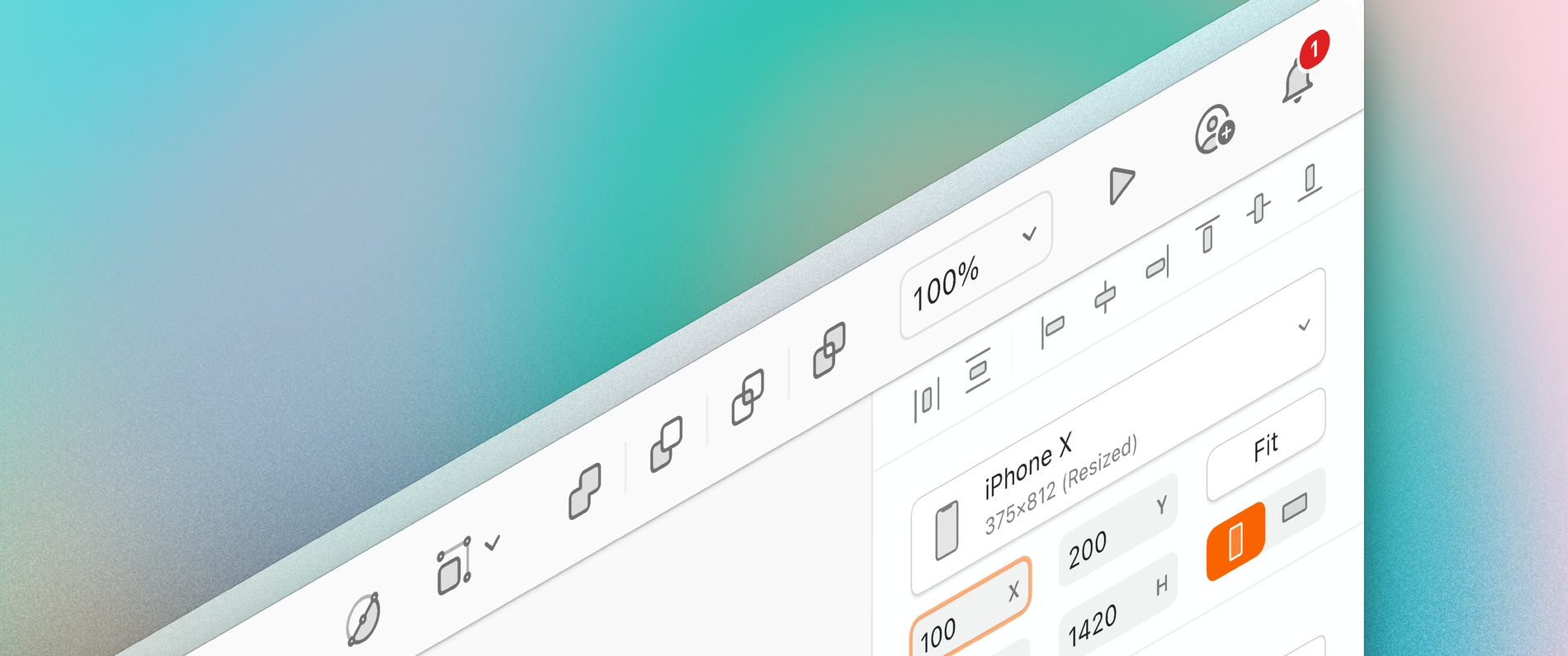 Header image showing a 3D view of the Sketch window with the updated toolbar icons.