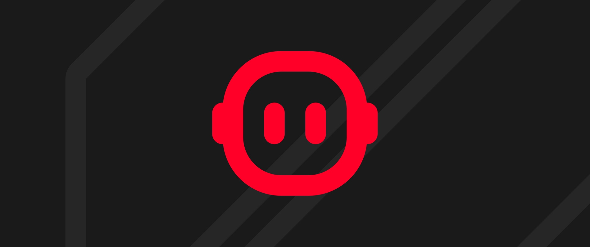 An illustrated image of the red Tapbots logo on a dark grey background